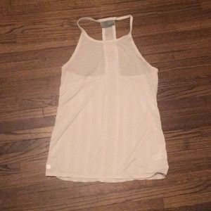 Sm Athleta white halter tank top